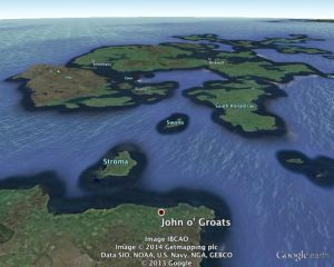 scapa history week details map
